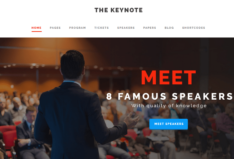 The Keynote WordPress Theme
