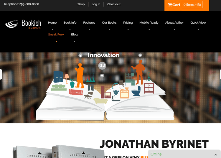 Bookish WordPress Theme