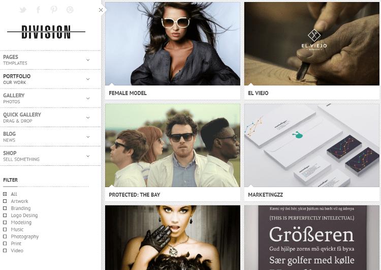 Division WordPress Theme