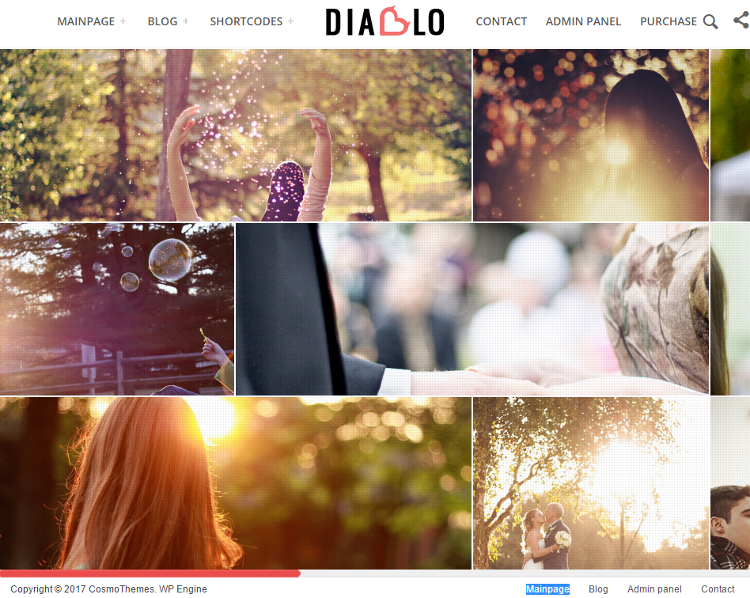Diablo WordPress Theme