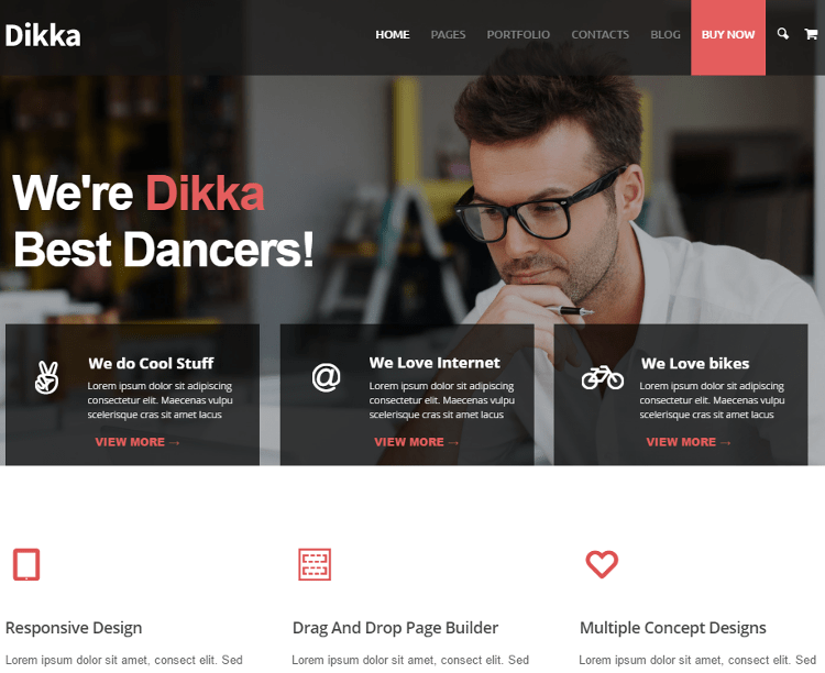 Dikka WordPress Theme