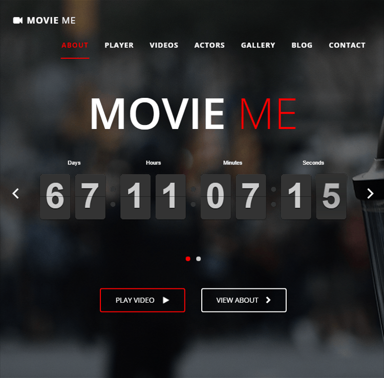 Movie Me WordPress Theme