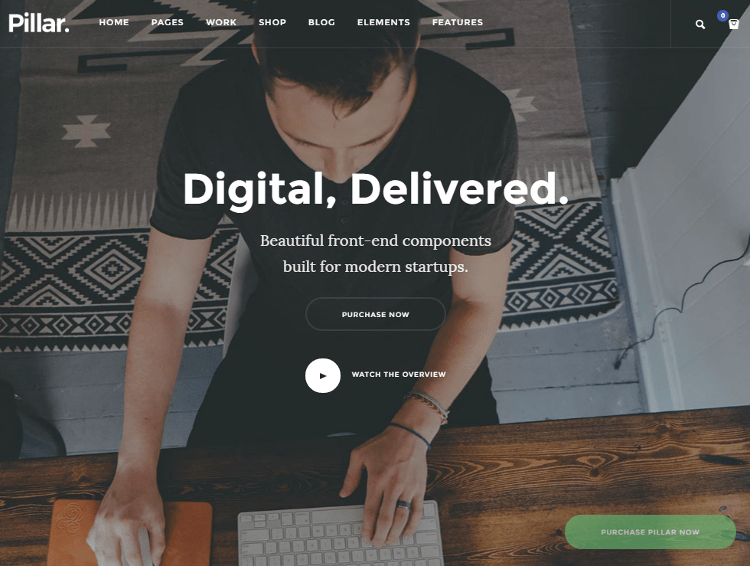 Pillar WordPress Theme