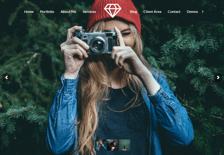 Talent WordPress Theme