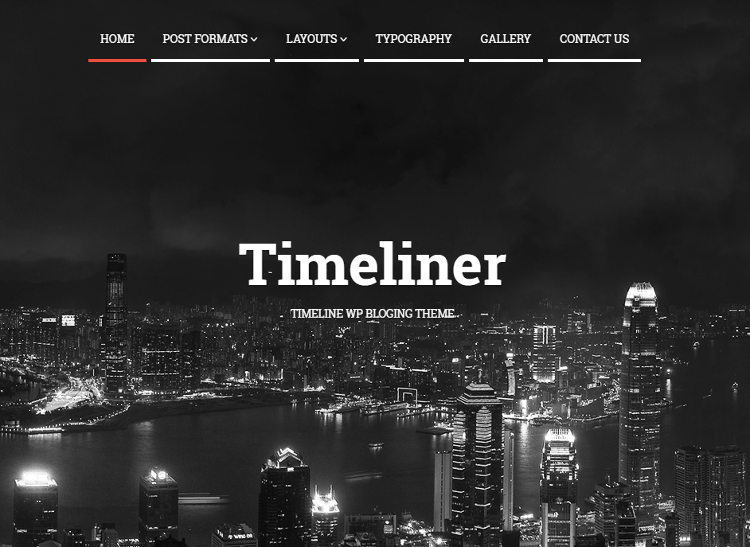 Timeliner WordPress Theme