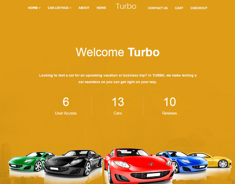 Turbo WordPress Theme