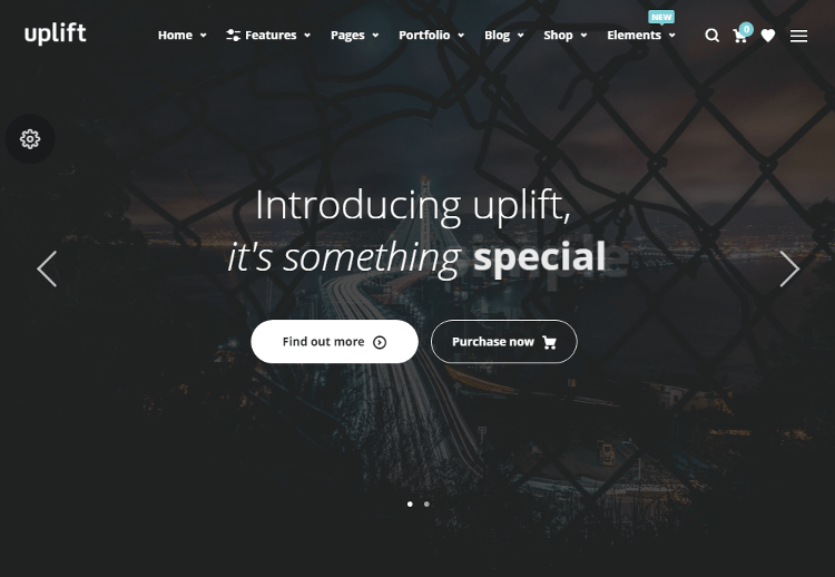 Uplift WordPress Theme