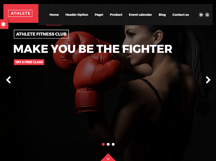 Athlete HTML5 Template