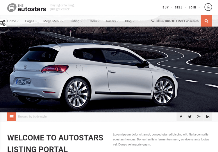 AutoStars HTML5 Template