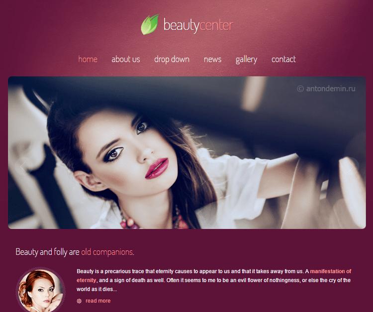 Beauty Center HTML5 Template