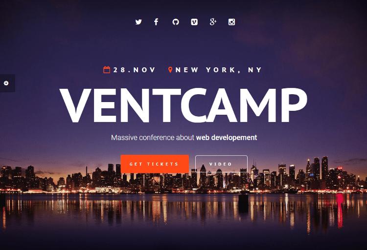 Ventcamp HTML5 Template