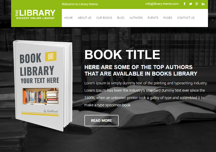 Book Guide HTML5 Template