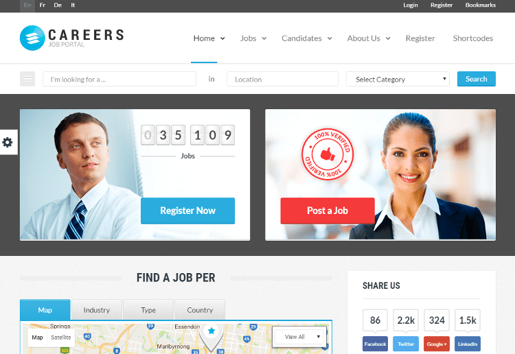 CAREERS HTML5 Template
