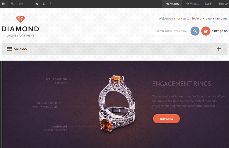 Diamond HTML5 Template
