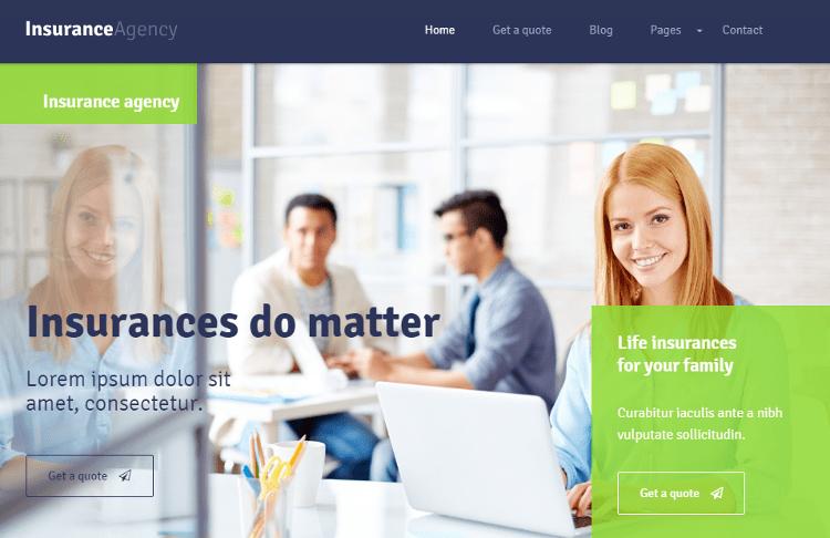 Insurance HTML5 Template