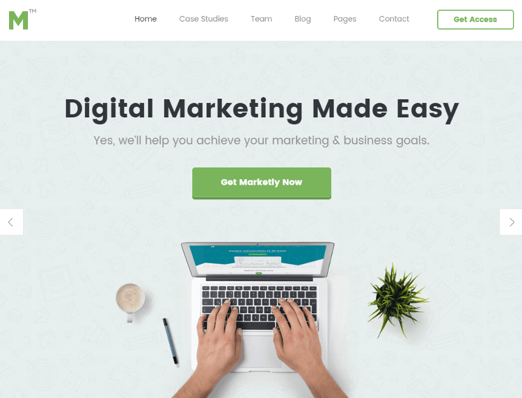 Marketing HTML5 Template