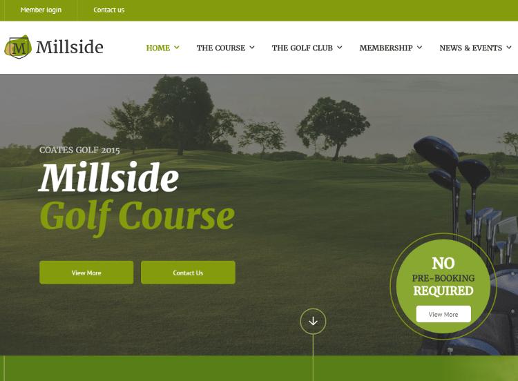 Millside HTML5 Template