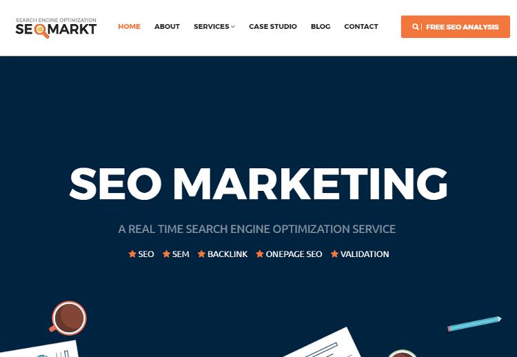 SEOMarkt HTML5 Template