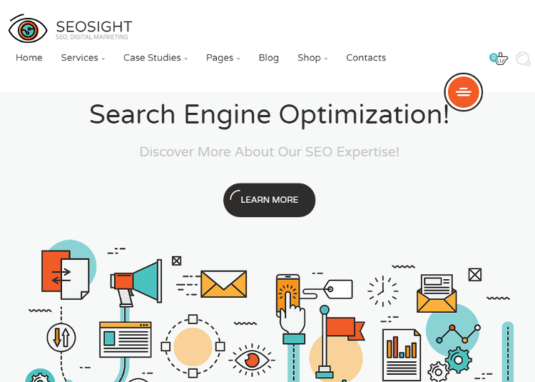 Seosight HTML5 Template