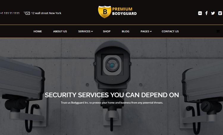 Bodyguard WordPress Theme