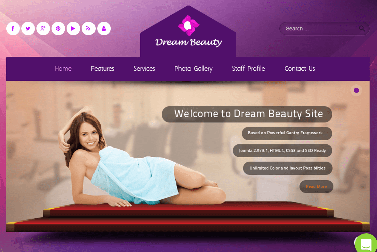 Dream Joomla Template
