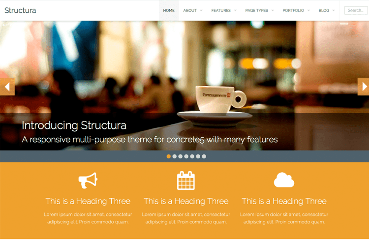 Structura Concrete5 Theme