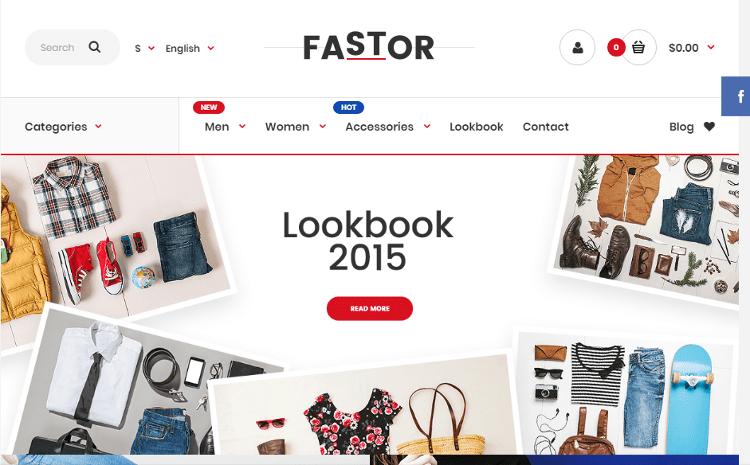 Fastor OpenCart Theme