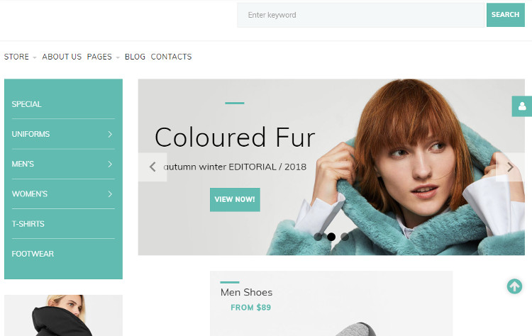 Garb Fashion Joomla Template