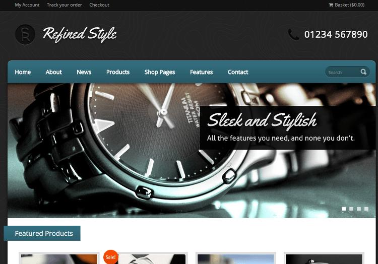 Refined Style WordPress Theme