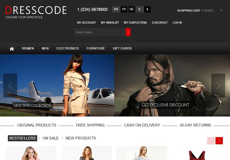 Dresscode NopCommerce Theme