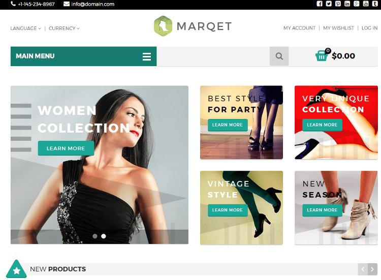 MarQet Zen Cart Template