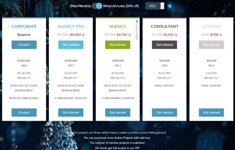 DeepCrawl SEO Website Checker Tool
