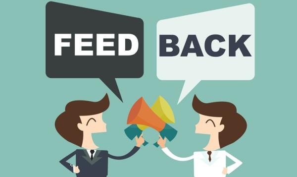 Make Sure To Open Feedback Section