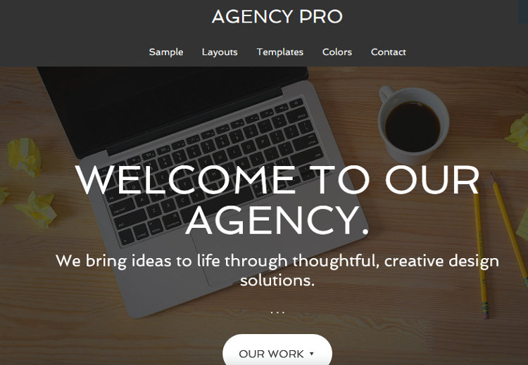 Agency Pro WordPress Genesis Child Theme
