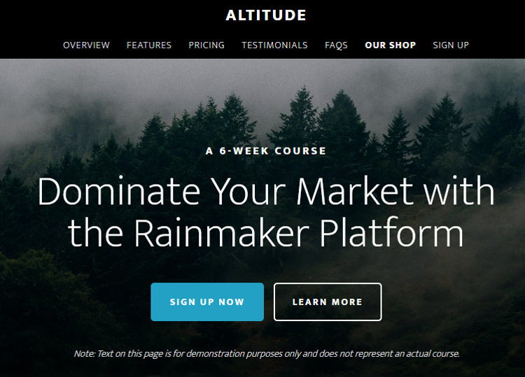 Altitude Pro WordPress Genesis Child Theme