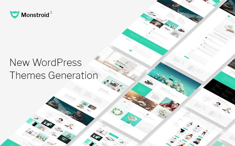 Monstroid2 - Clean Multipurpose WordPress Theme