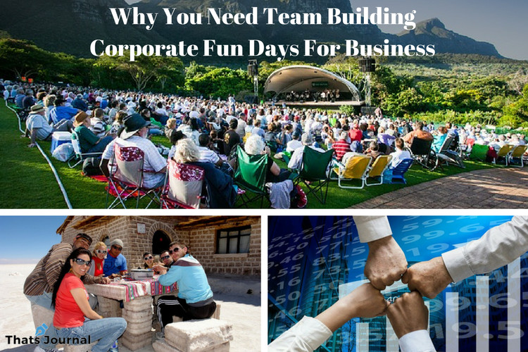 Why You Need Team Building Corporate Fun Days For Business