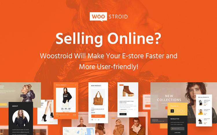 Woostroid - Innovative Multipurpose WooCommerce Theme