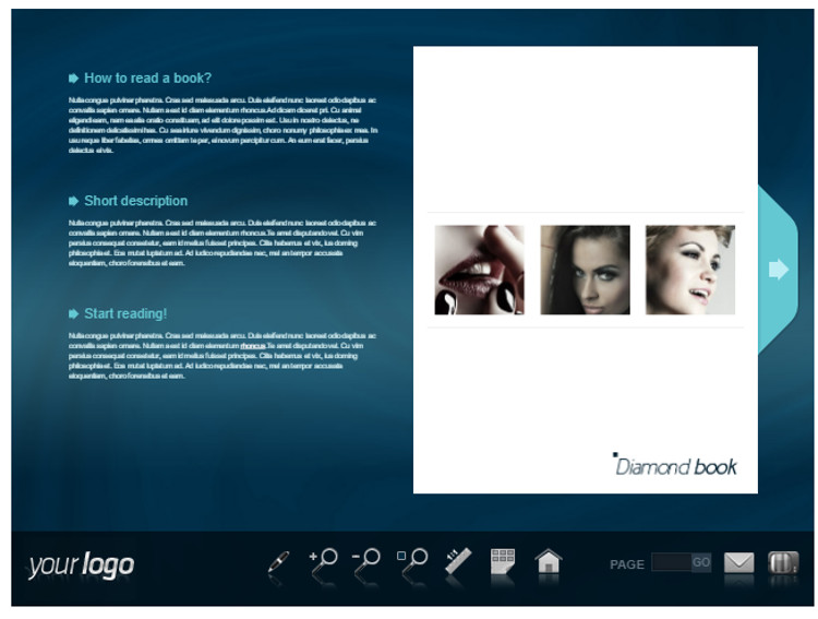 Diamond FlipBook WordPress Plugin