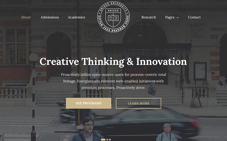 Education, School, College & University WordPress Theme