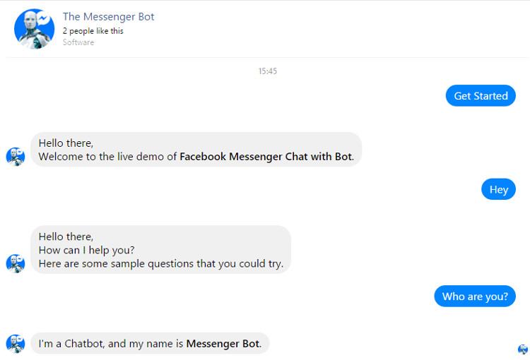 Facebook Messenger Chat with Bot WordPress Plugin