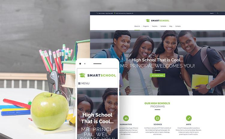 High School Education WordPress Theme