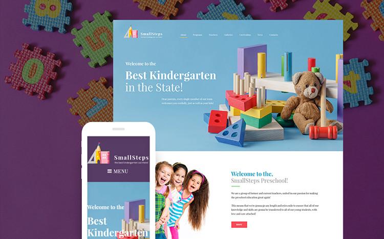 Kindergarten Responsive WordPress Theme