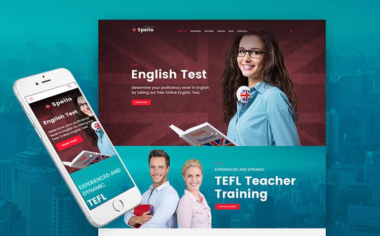 Language School Responsive WP Theme