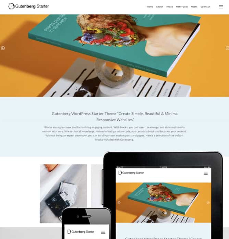 Gutenberg Starter WordPress Theme