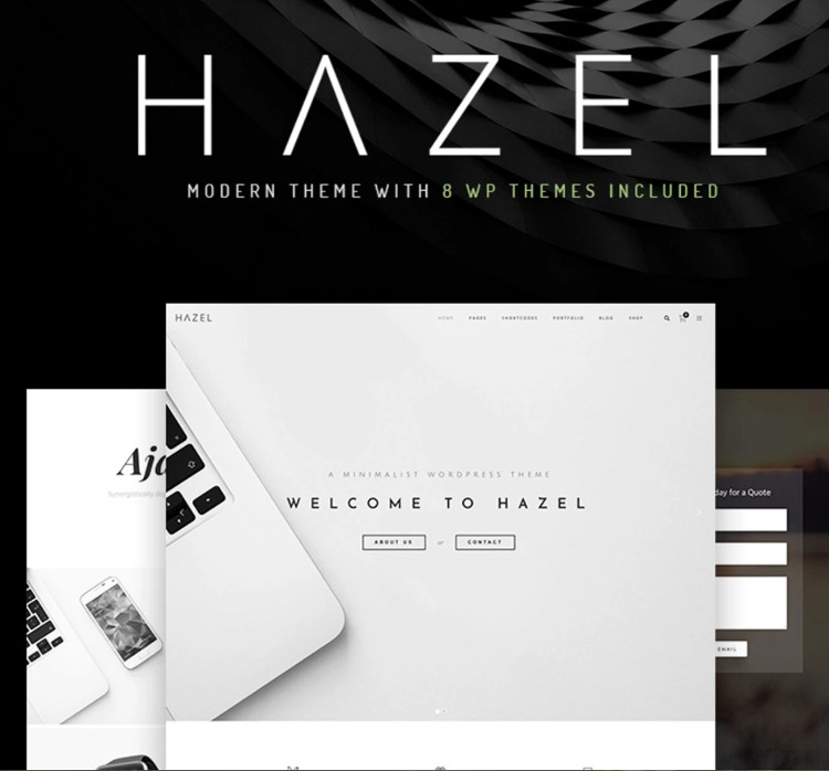 Hazel WordPress Theme