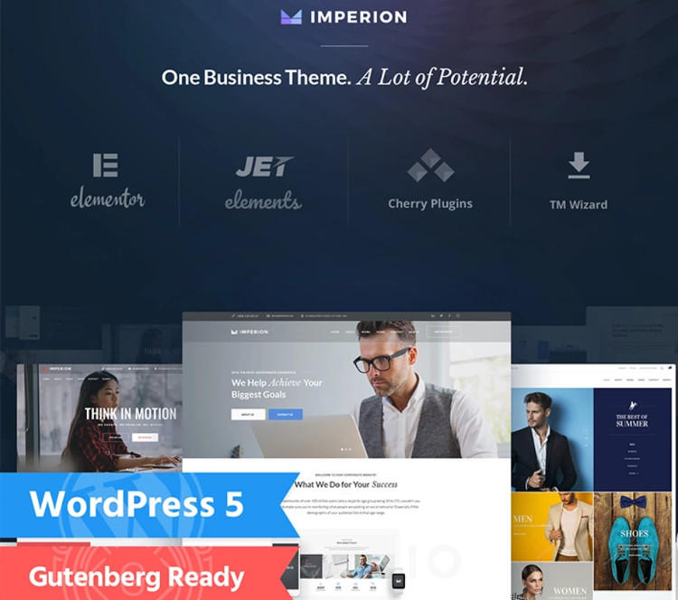 Imperion WordPress Theme
