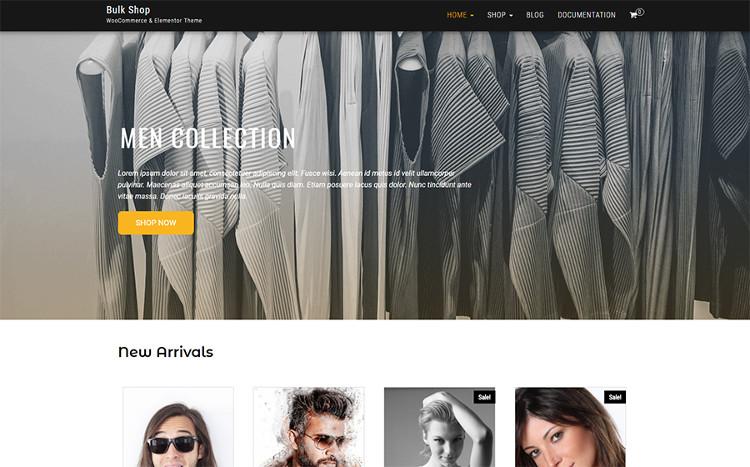 Bulk Shop WooCommerce & Elementor WordPress Theme