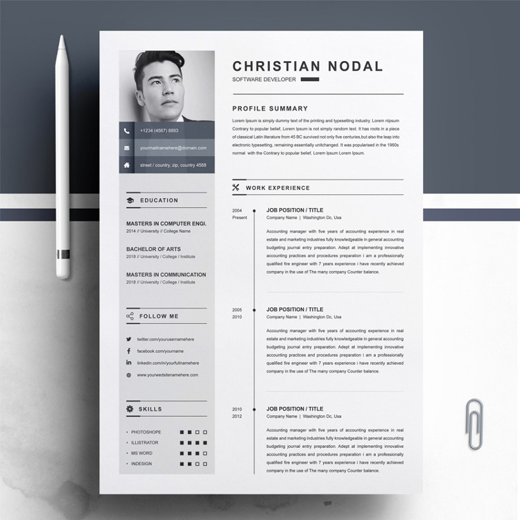 Christian Resume Template
