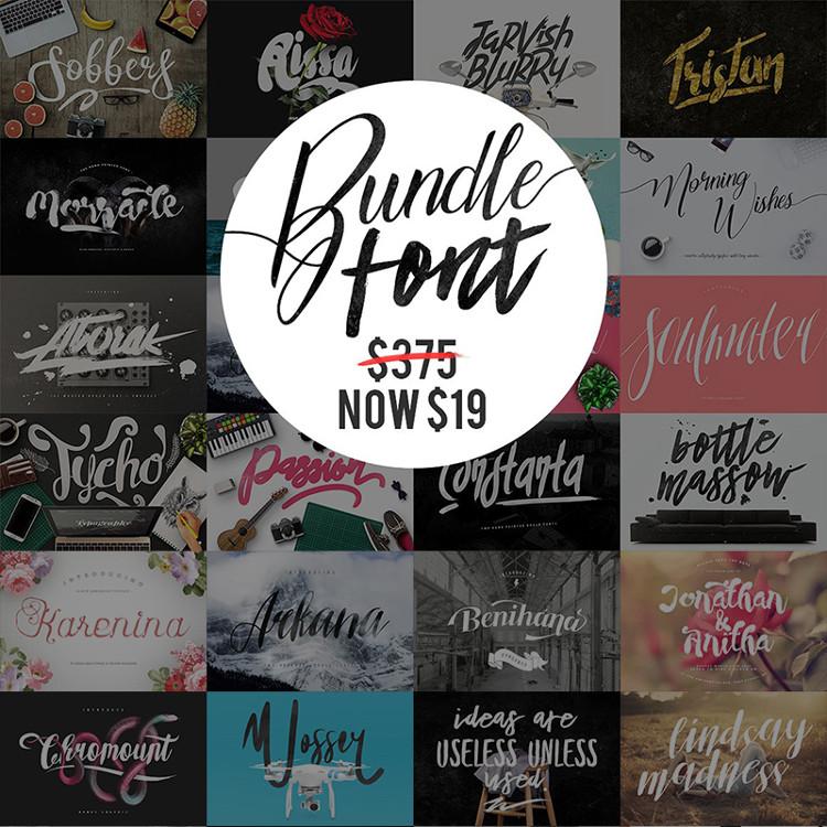 Mega Fonts bundle